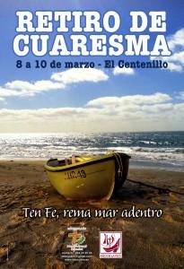 CARTEL RETIRO CUARESMA 2013